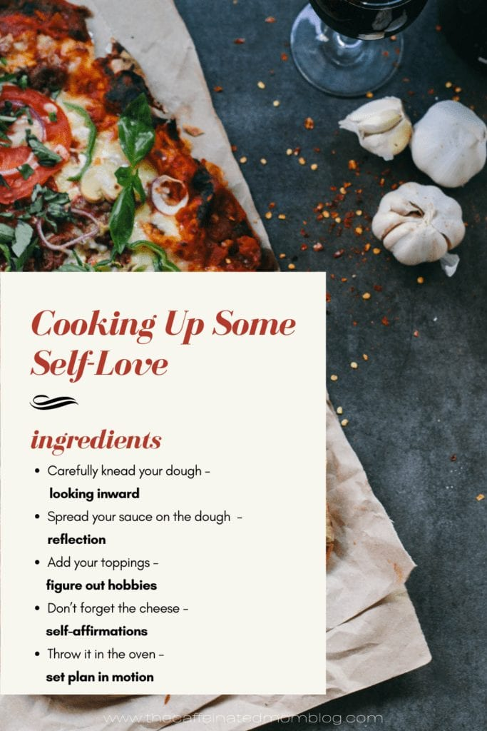 cooking up some self-love
